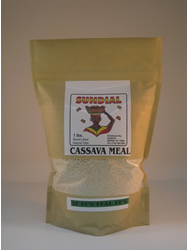 Cassava Meal 1/2 lb. Bag