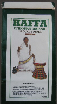 Kaffa (Ethiopian Organic Coffee) – 1/2 lb. Bag