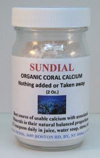 Sundial Organic Coral Calcium