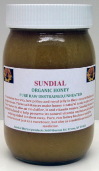 Sundial Organic Honey (out of stock)