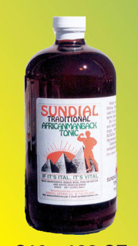 Sundial Traditional African Man Back Tonic 32 oz.
